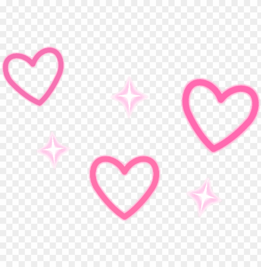 free PNG heart hearts sparkle sparkles pink red white kawaii - heart PNG image with transparent background PNG images transparent