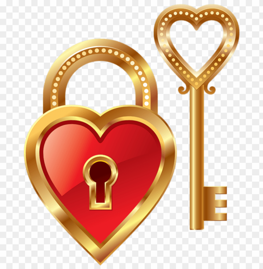 free PNG heart lock and heart key png - Free PNG Images PNG images transparent