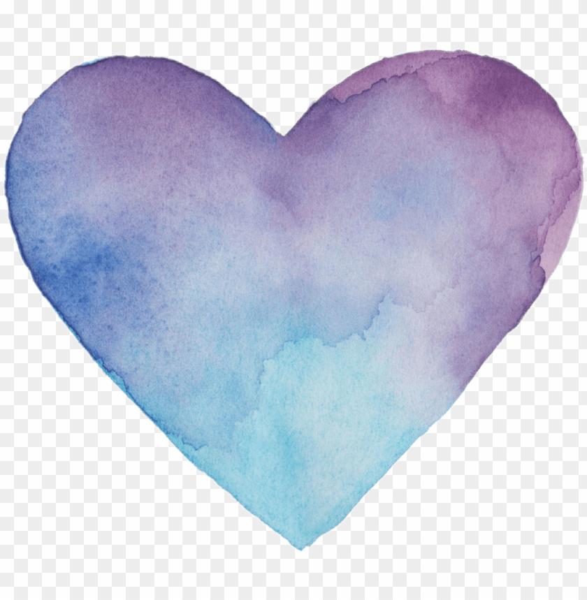 Heart Love Colorfull Blue Lila Vileta Tumblr Corazon Heart Png