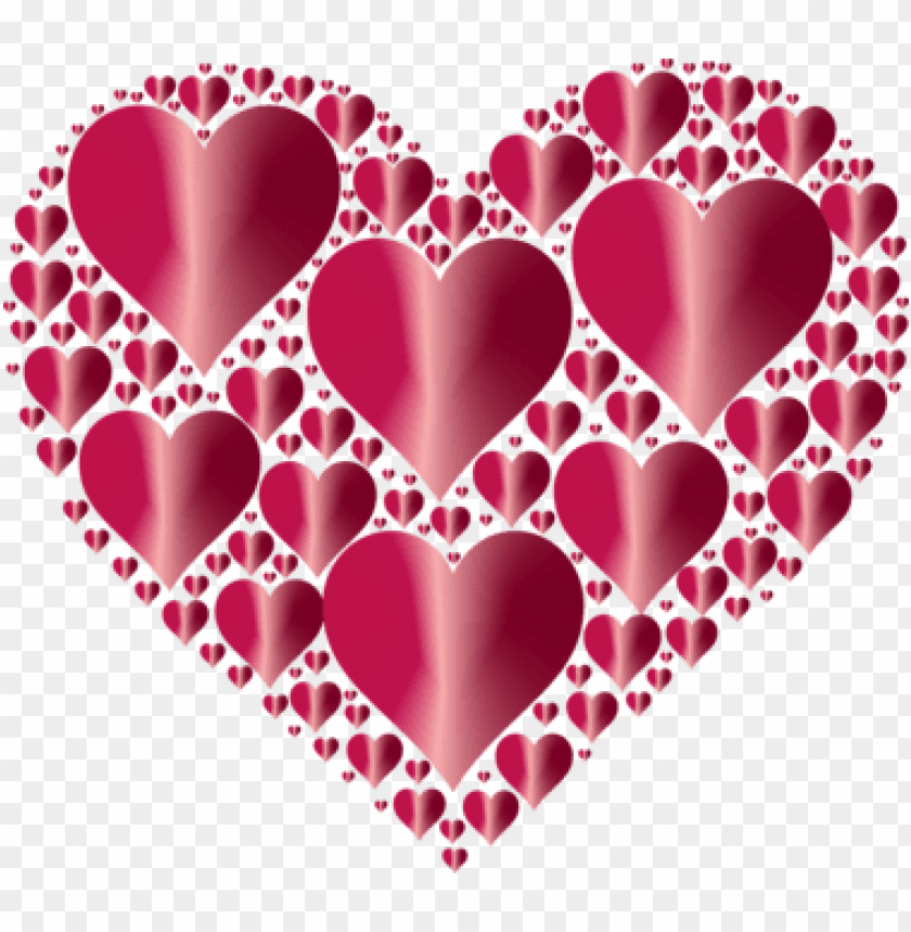 free PNG heart love computer icons valentine's day - pink and red hearts PNG image with transparent background PNG images transparent