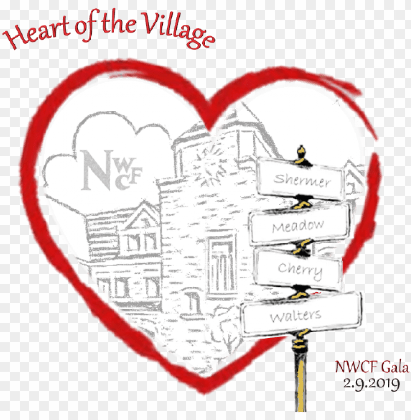 free PNG heart of the village - heart PNG image with transparent background PNG images transparent