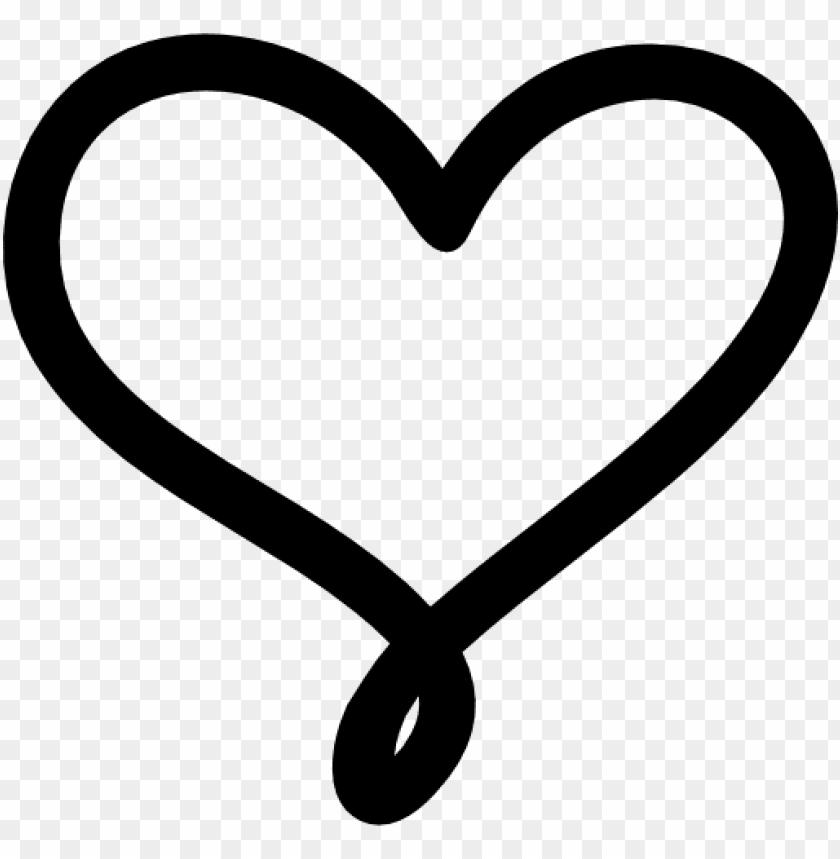 heart outline love black 11549006433tgju51br2p