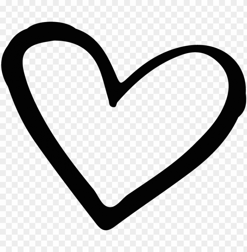 free PNG heart, png black and white - black and white love heart PNG image with transparent background PNG images transparent