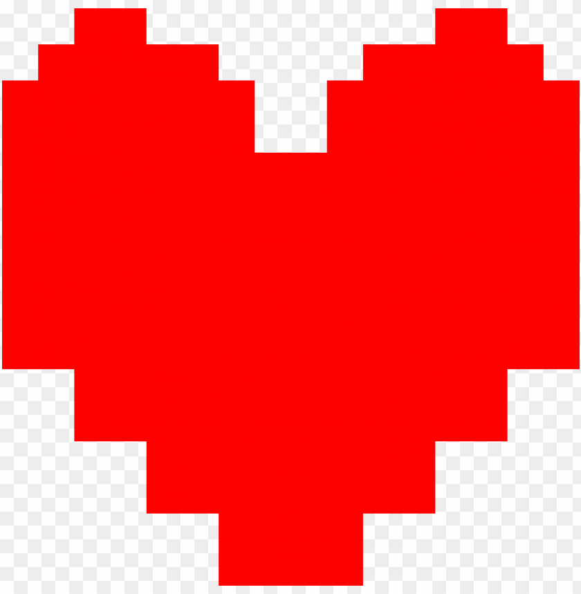 free PNG heart, png pixel - undertale heart PNG image with transparent background PNG images transparent