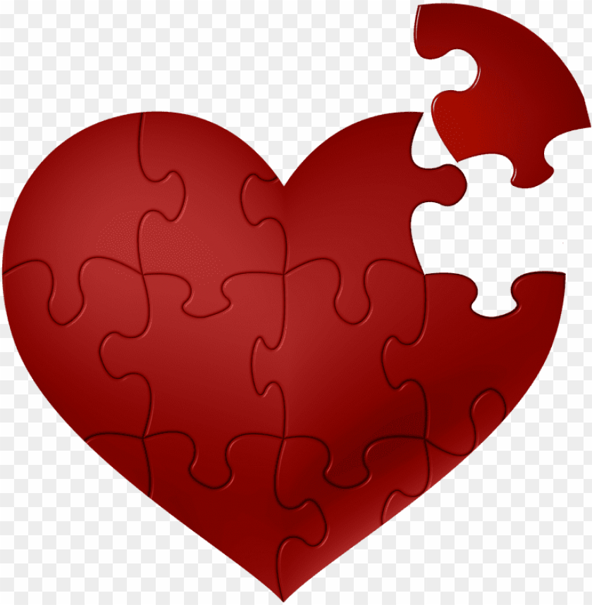 free PNG heart puzzle png png library download - heart puzzle piece sv PNG image with transparent background PNG images transparent