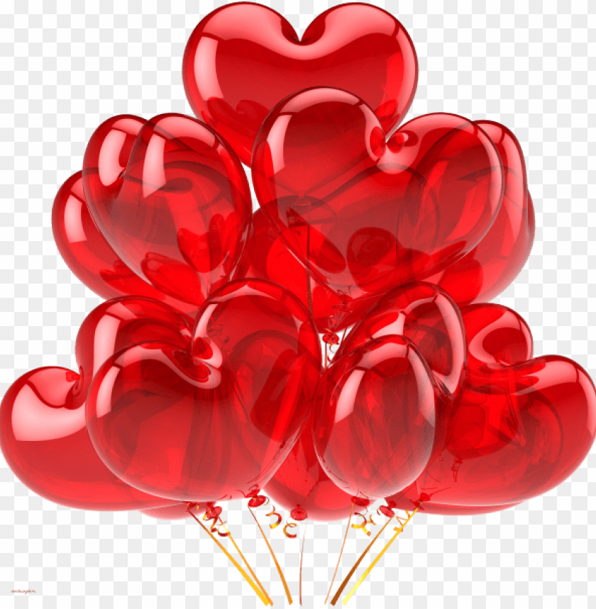 free PNG heart shape balloon png - balloon PNG image with transparent background PNG images transparent