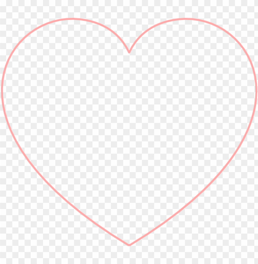 Free Red Heart Outline, Download Free Clip Art, Free Clip Art on Clipart  Library