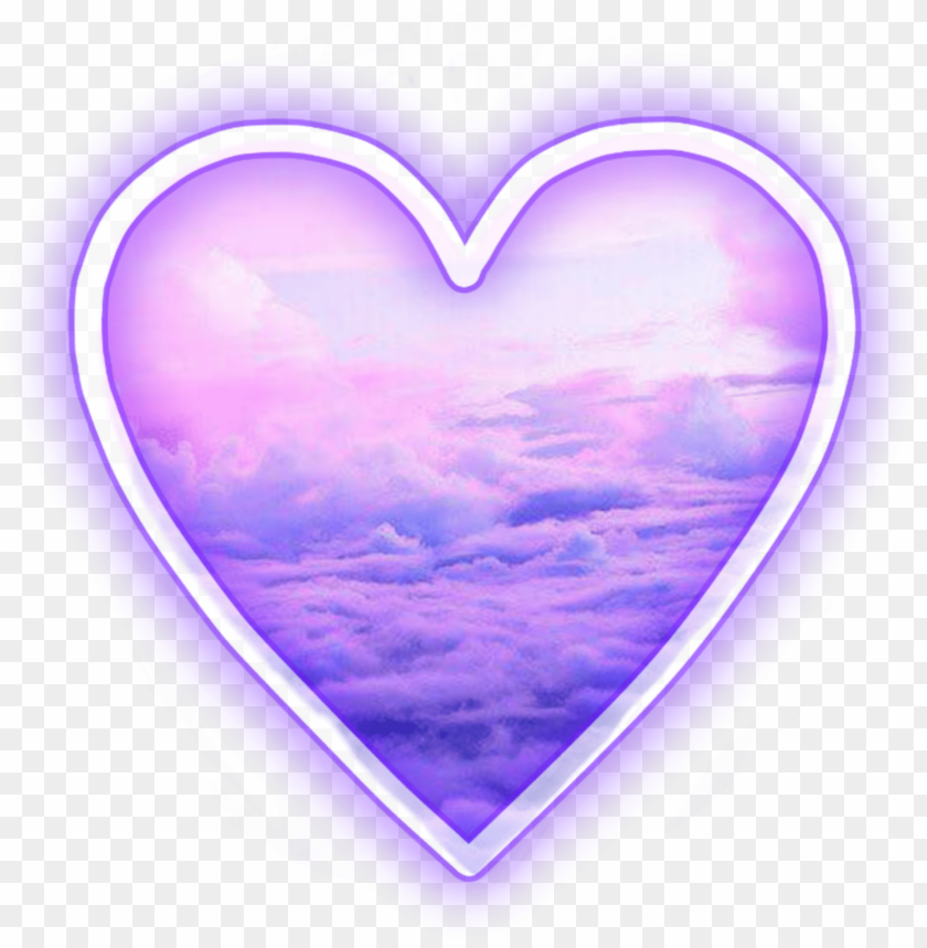 free PNG heart tumblr clouds purple anime png heart png tumblr - purple tumblr transparents PNG image with transparent background PNG images transparent