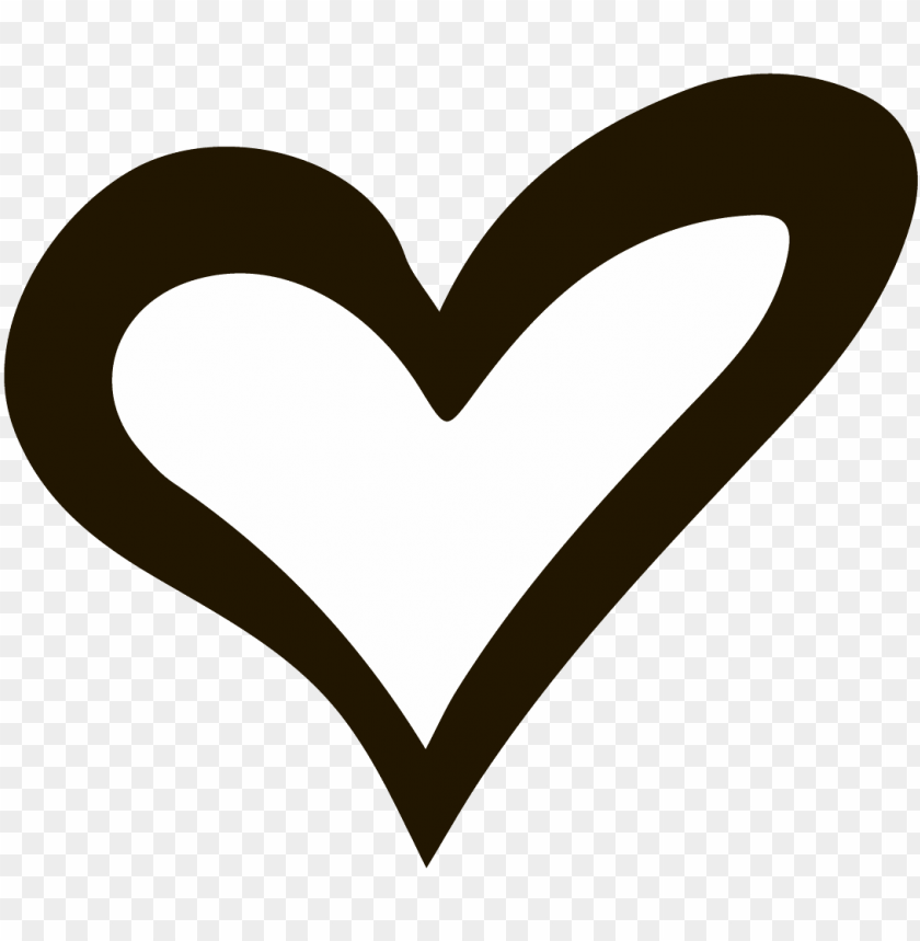 free PNG heart vector hand drawn - hand drawn heart clipart PNG image with transparent background PNG images transparent