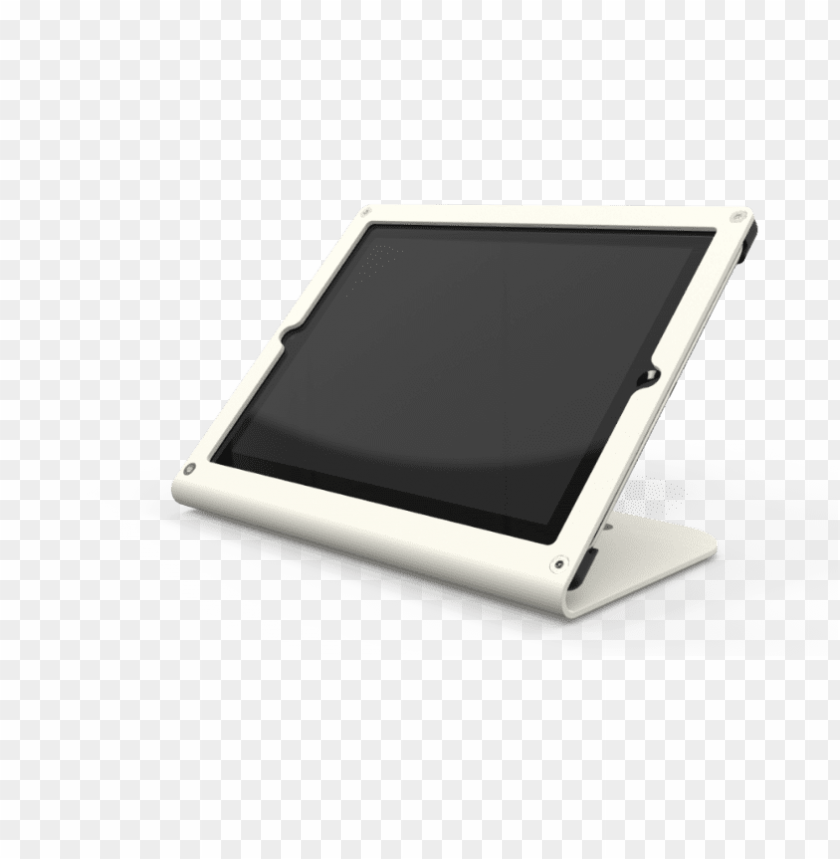 free PNG heckler windfall stand for ipad air - windfall stand for ipad air grey white PNG image with transparent background PNG images transparent