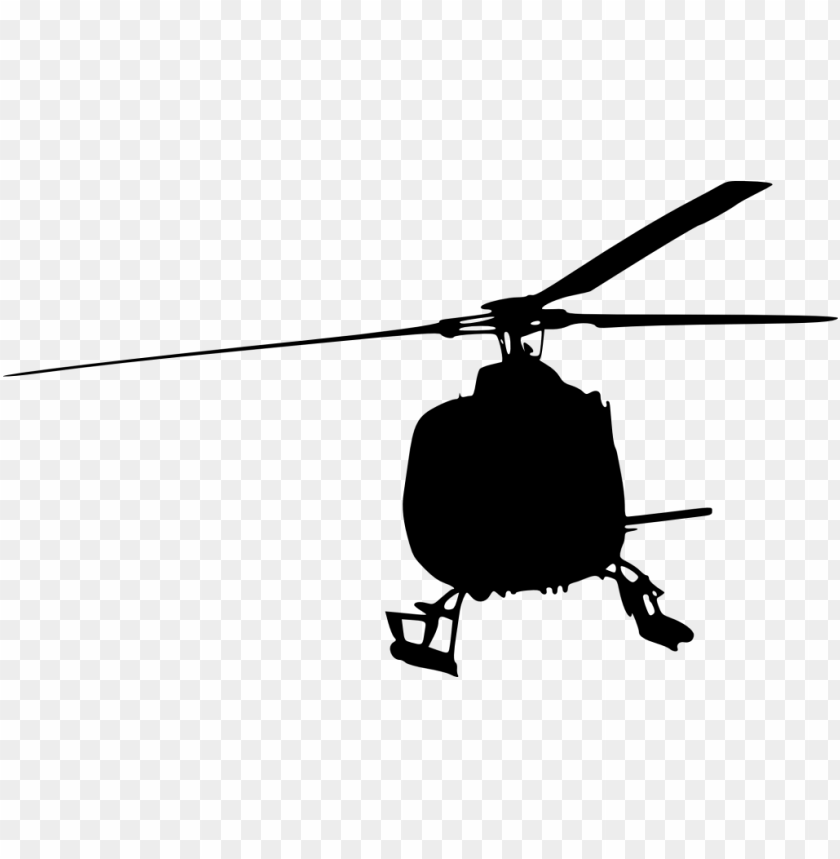 free PNG helicopter front view silhouette png - Free PNG Images PNG images transparent