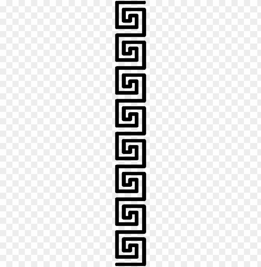 free PNG hellas greek greekstyle meandros greece pattern - sticker PNG image with transparent background PNG images transparent