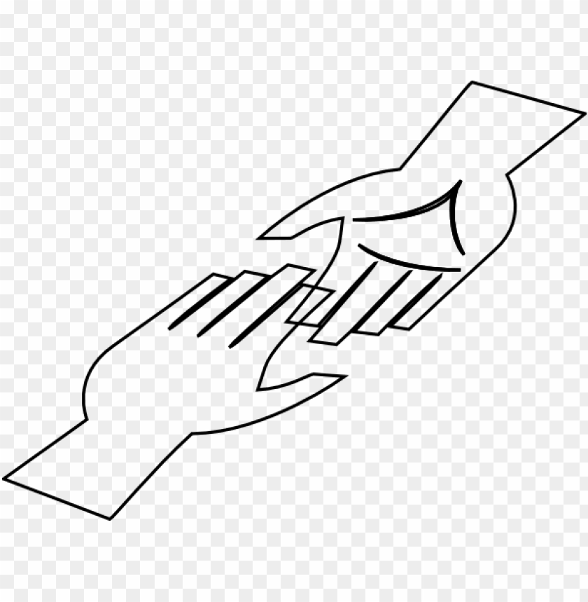 Helping Hand Clipart Black And White Png Image With Transparent Background Toppng You are here:pngio.com»open hand png black and white. toppng