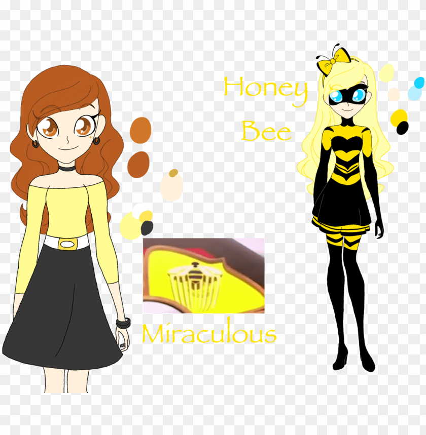 free PNG here is the new queen bee , named honey bee ( i - miraculous queen bee trumpo weapon PNG image with transparent background PNG images transparent