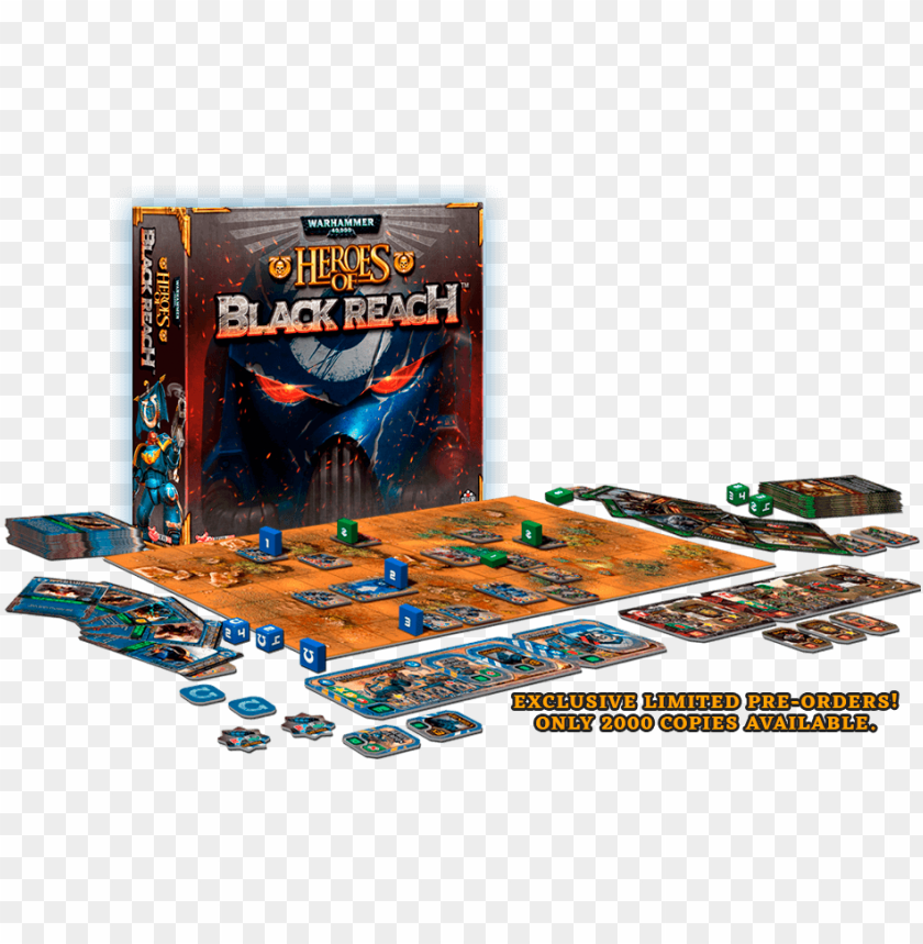 free PNG heroes of black reach is a game for 2 players, ages - warhammer 40000 dice masters battle for ultramar campai PNG image with transparent background PNG images transparent
