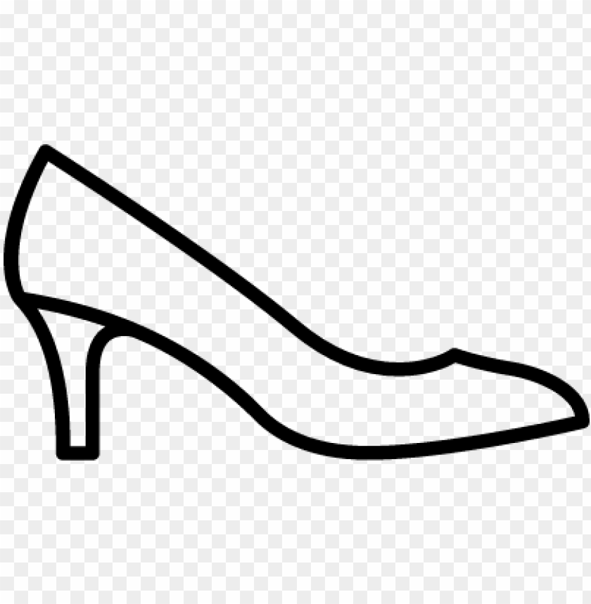 free PNG high heels vector - high-heeled shoe PNG image with transparent background PNG images transparent
