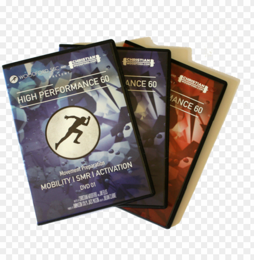 free PNG high performance 60 dvd (3 disc series) - educatio PNG image with transparent background PNG images transparent