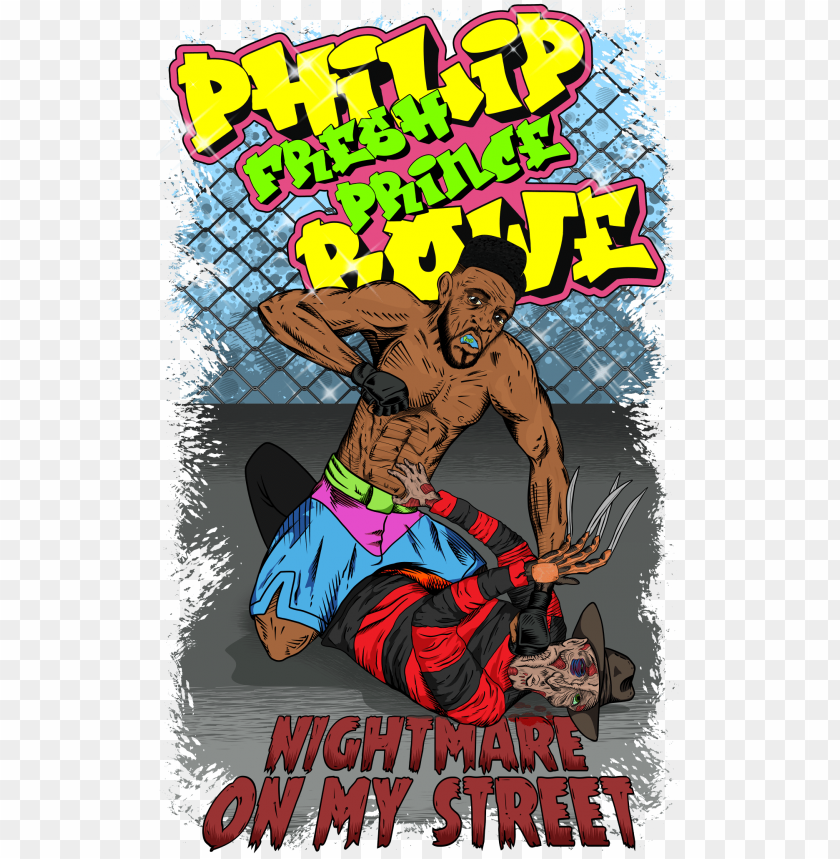 Hilip The Fresh Prince Rowe S Nightmare On My Street Poster Png Image With Transparent Background Toppng