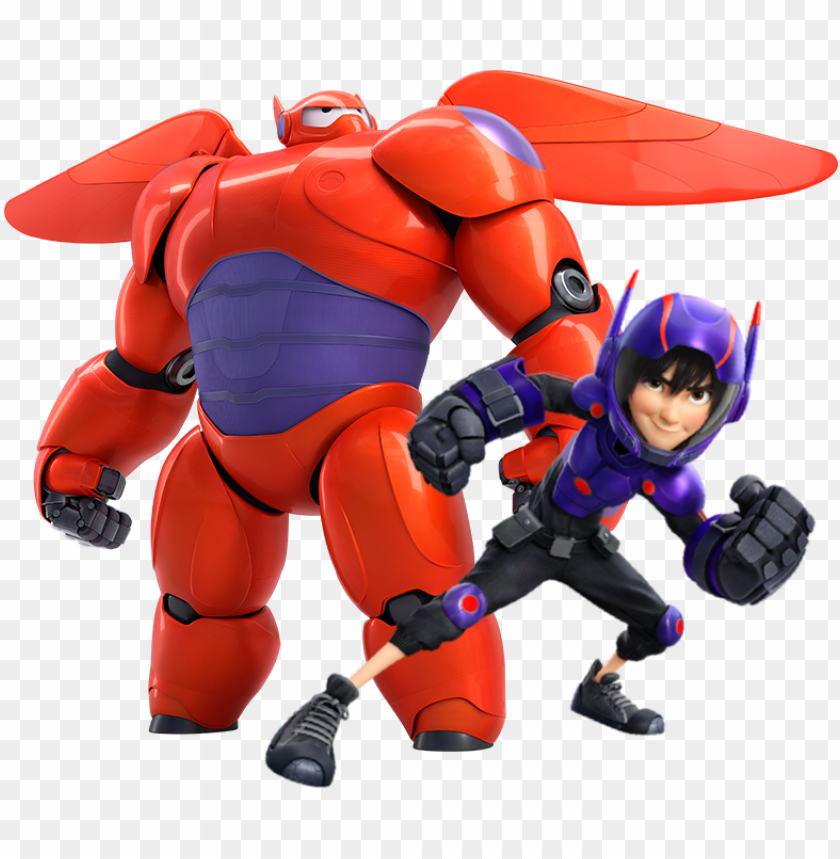 Hiro And Baymax Big Hero 6 Baymax Png Image With Transparent Background Toppng