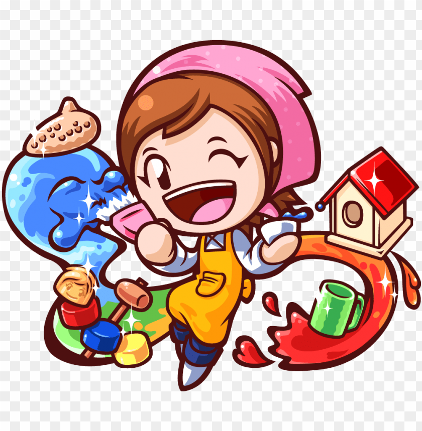 free PNG hobbies fun key art - cooking mama PNG image with transparent background PNG images transparent