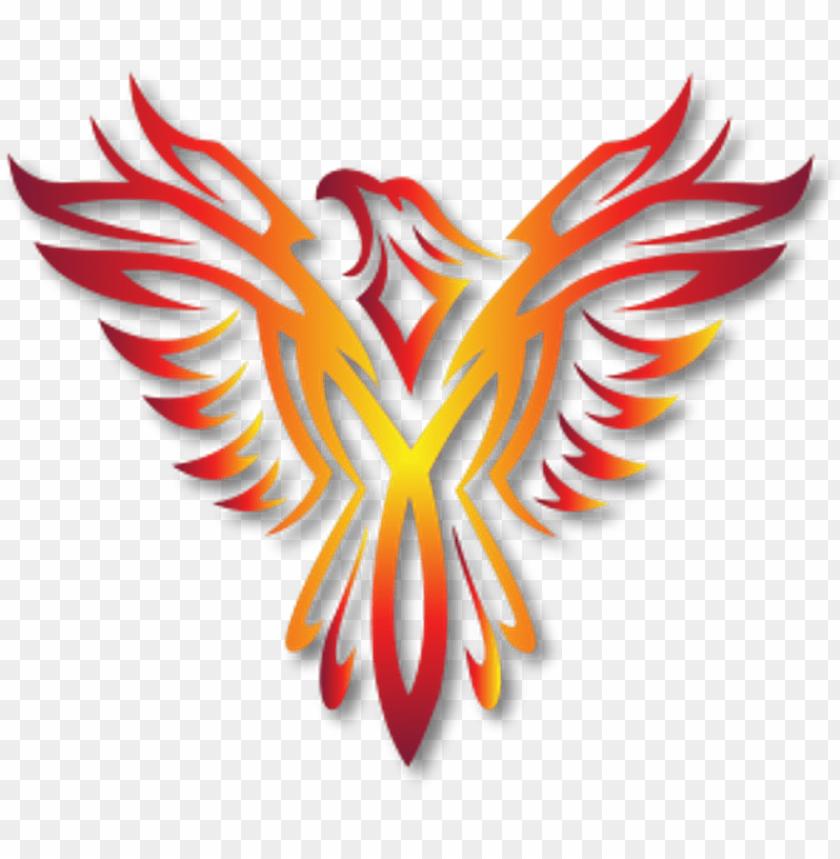 Hoenix Bird Logo Phoenixlogo Freetoedit Fire Phoenix Logo Png Image With Transparent Background Toppng
