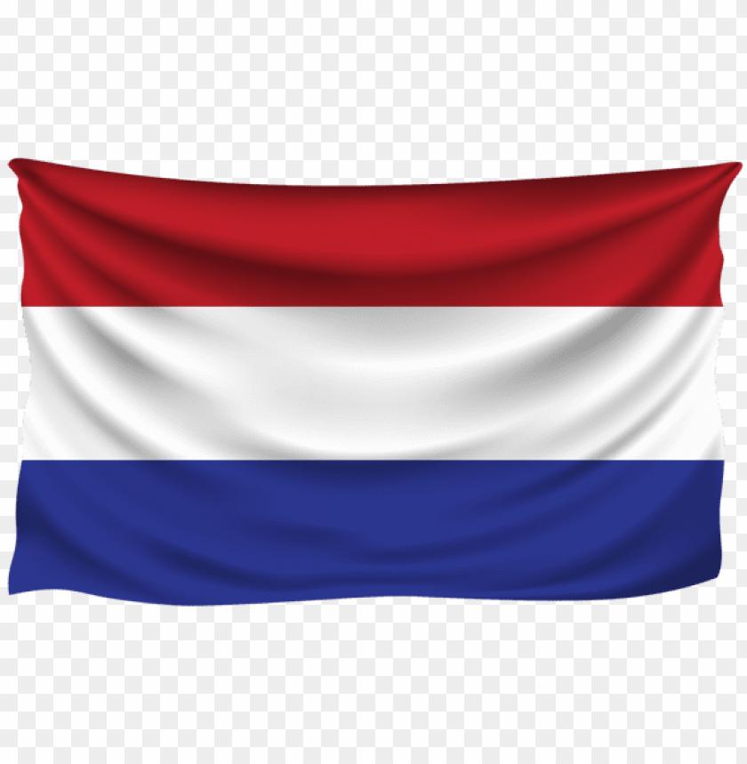 free PNG Download holland wrinkled flag clipart png photo   PNG images transparent