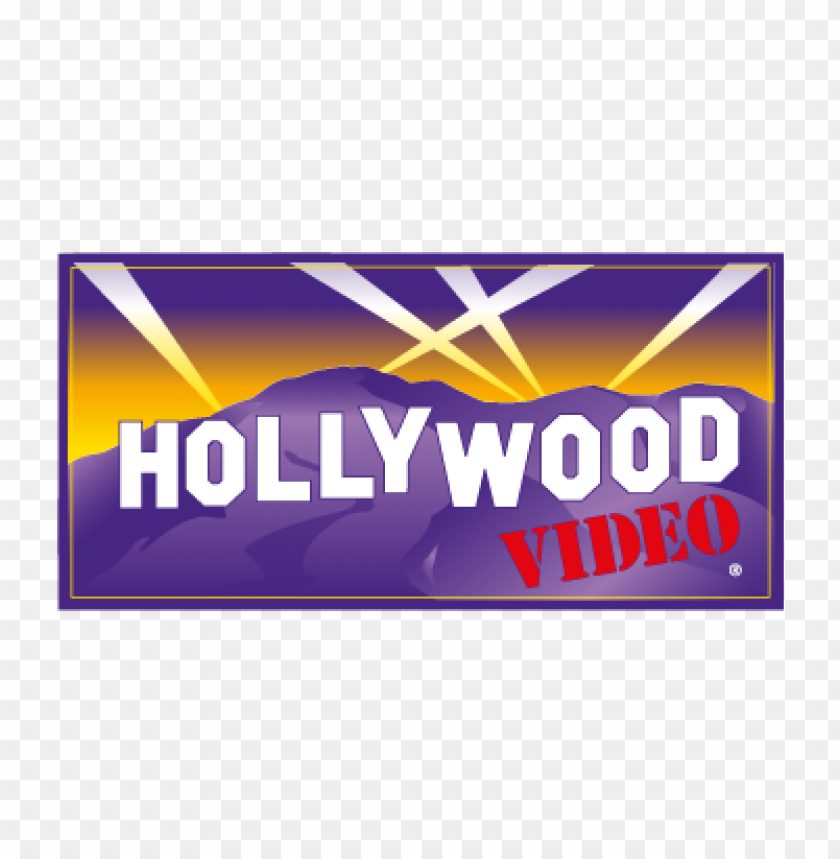 free PNG hollywood video vector logo free PNG images transparent