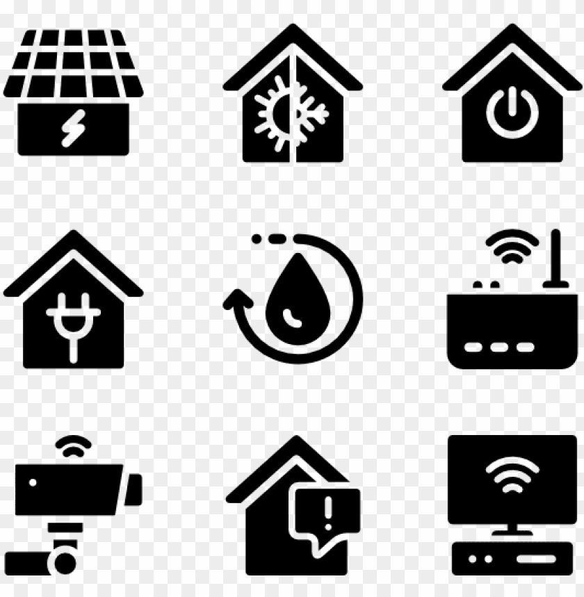home vector psd - smart home icon png - Free PNG Images@toppng.com