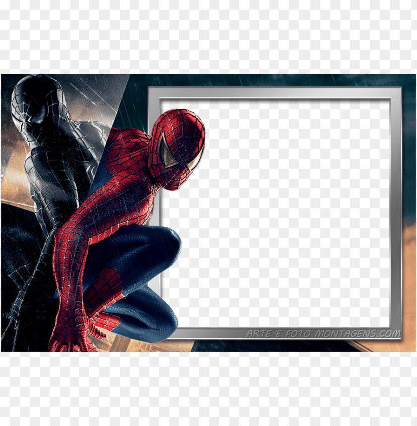 Homen Aranha Spider Man Moldura Homem Aranha Convite Png Image
