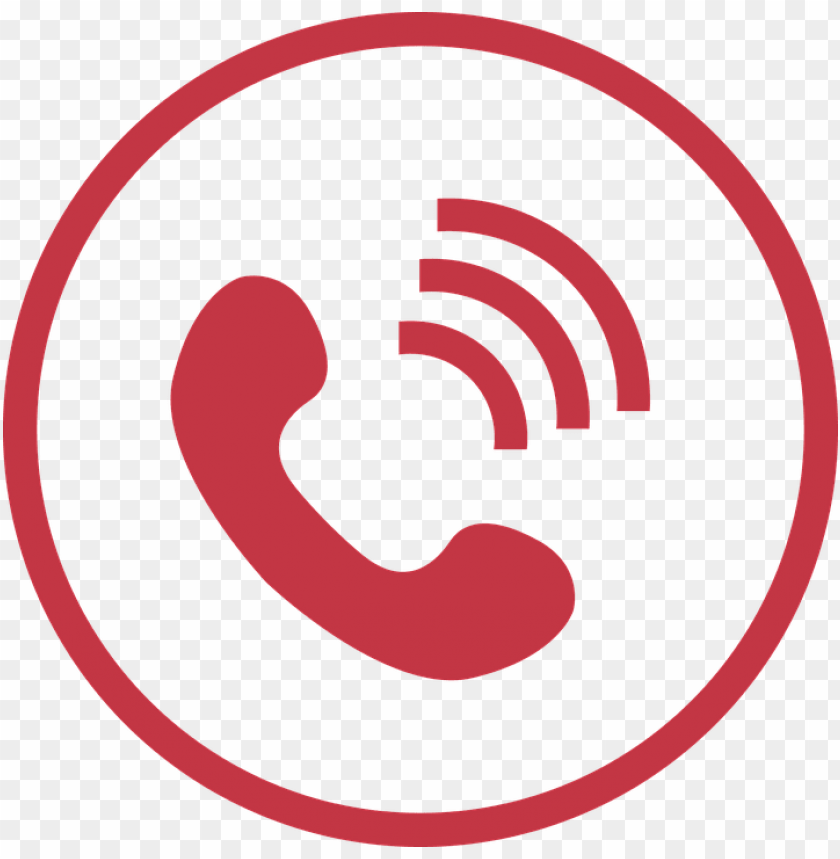 hone icon png red - icon Điện thoại PNG image with transparent ...