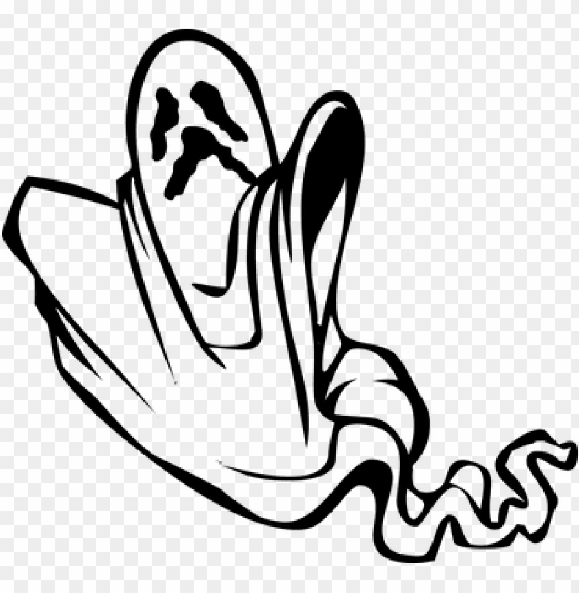 free PNG host halloween scary spooky ghost ghost g - spooky ghost clipart black and white PNG image with transparent background PNG images transparent