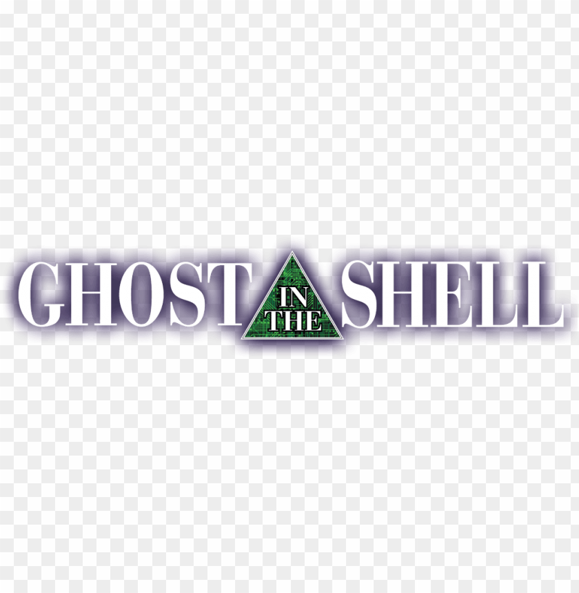 Host In The Shell Logo Ghost In The Shell Anime Logo Png Image With Transparent Background Toppng