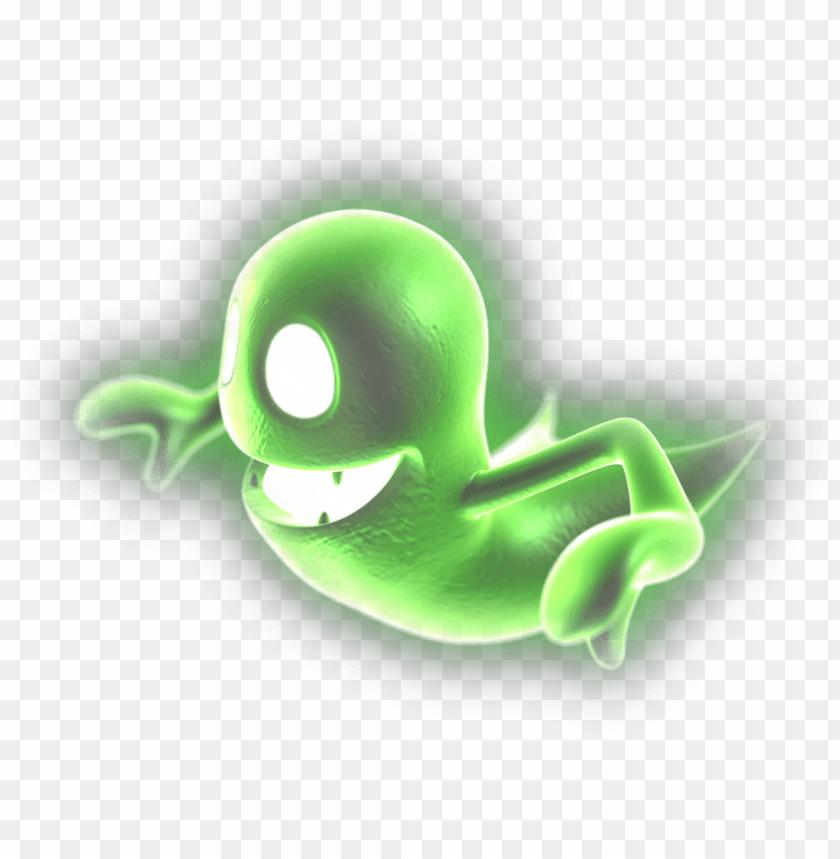 Host Transparent Luigi S Mansion Dark Moon Green Ghost Png