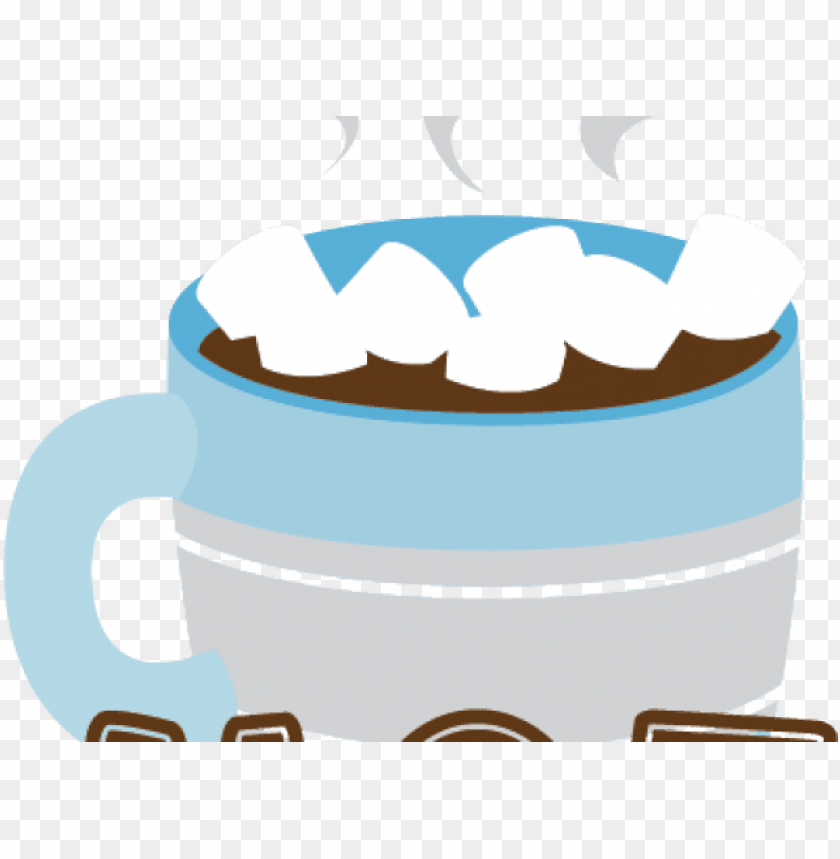 free PNG hot chocolate clipart winter - cute hot chocolate clipart PNG image with transparent background PNG images transparent