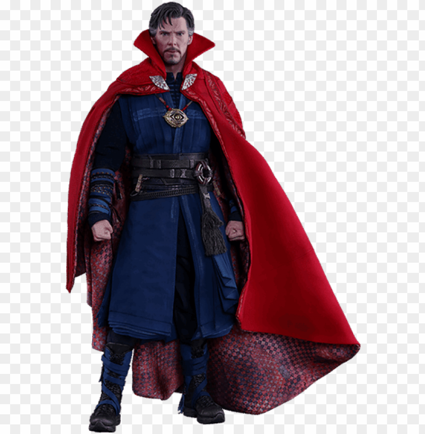 free PNG hot toys doctor strange sixth scale figure - doctor strange action figures PNG image with transparent background PNG images transparent