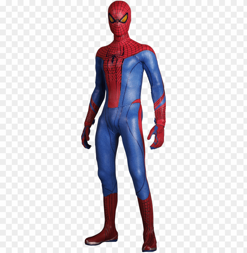 free PNG hot toys the amazing spider-man sixth scale figure - amazing spider man spider ma PNG image with transparent background PNG images transparent