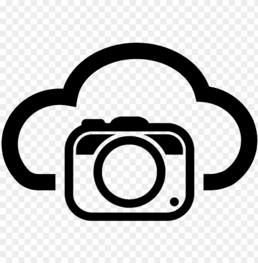 Hoto Camera On Internet Cloud Symbol Vector Imagem De Maquina