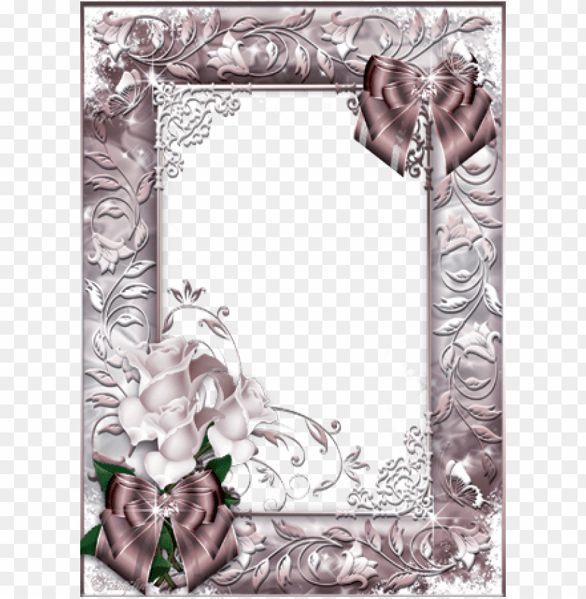 free PNG hoto frame - beautiful roses - frame picture beautiful PNG image with transparent background PNG images transparent