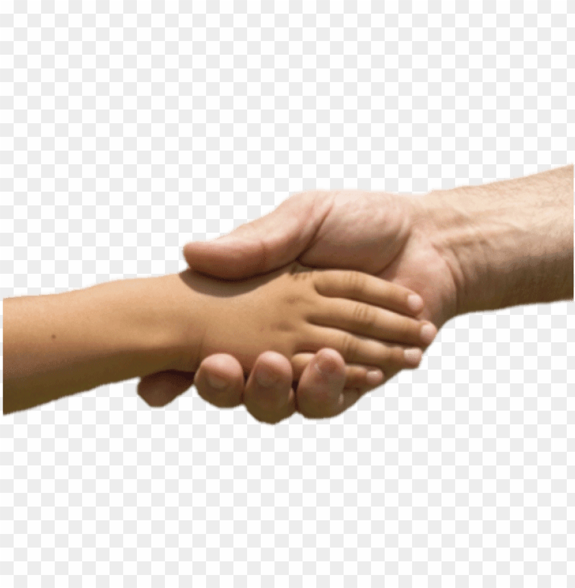 free PNG hoto of child and adult hand shaking - helping hand to childre PNG image with transparent background PNG images transparent
