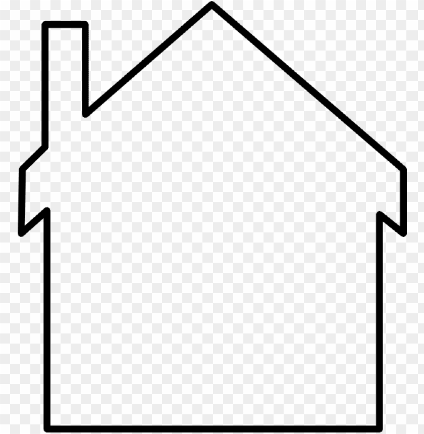 free PNG house outline buildings homes house house outline png - house outline clip art PNG image with transparent background PNG images transparent