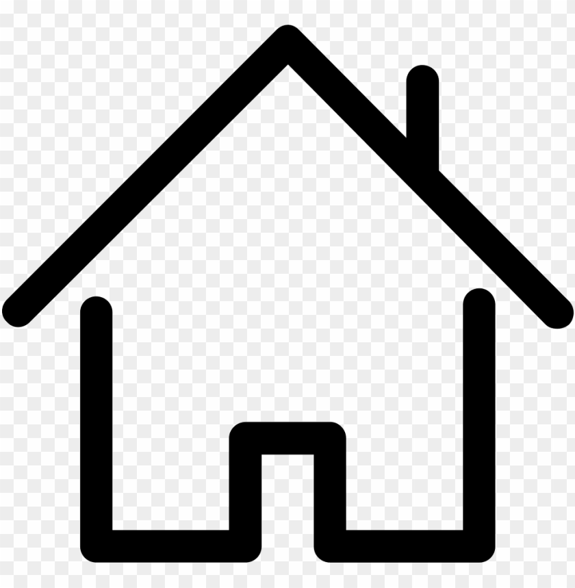 free PNG house outline svg png icon free download - house outline PNG image with transparent background PNG images transparent