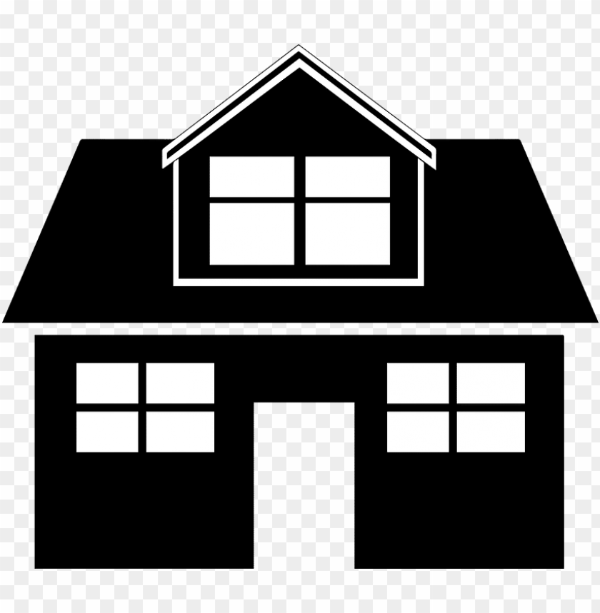 free PNG houseblack and white PNG image with transparent background PNG images transparent