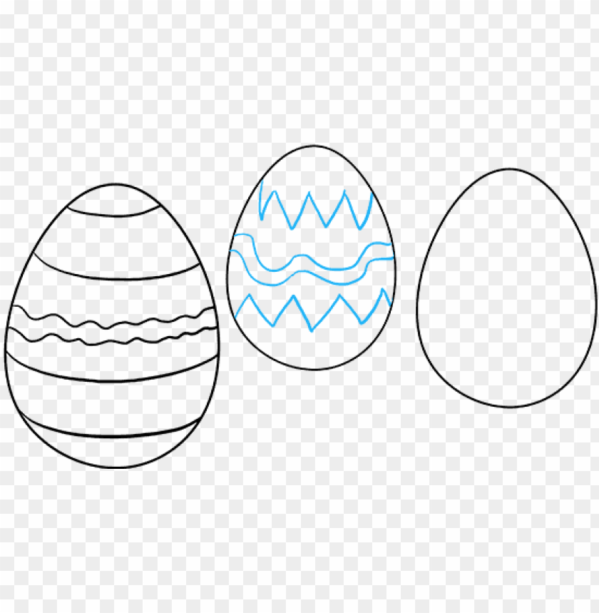 free PNG how to draw easter eggs - easter PNG image with transparent background PNG images transparent