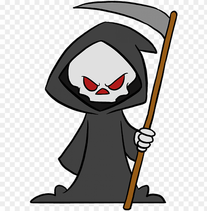 free PNG how to draw grim reaper - easy grim reaper drawi PNG image with transparent background PNG images transparent