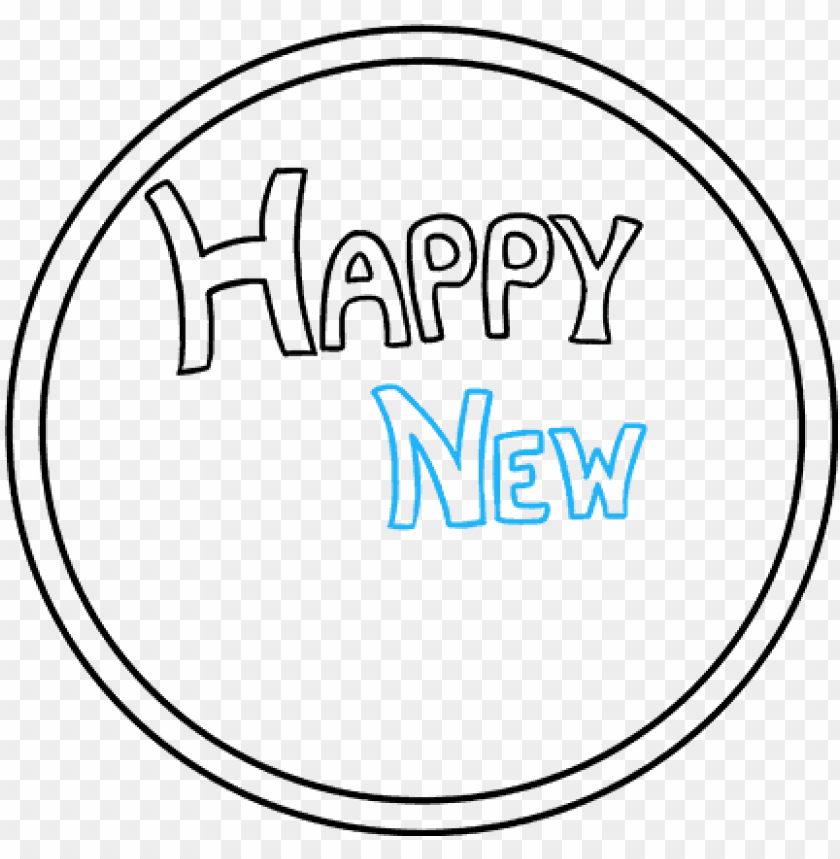 Happy New Year Transparent Background 61