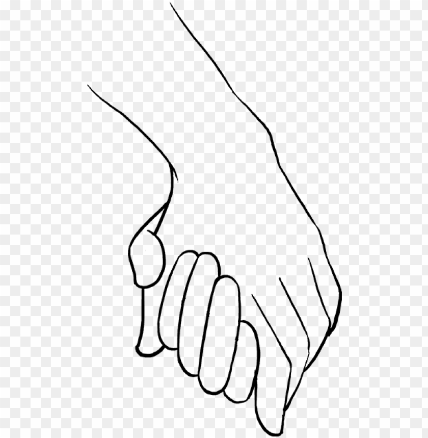 free PNG how to draw holding hands - holding hands drawi PNG image with transparent background PNG images transparent