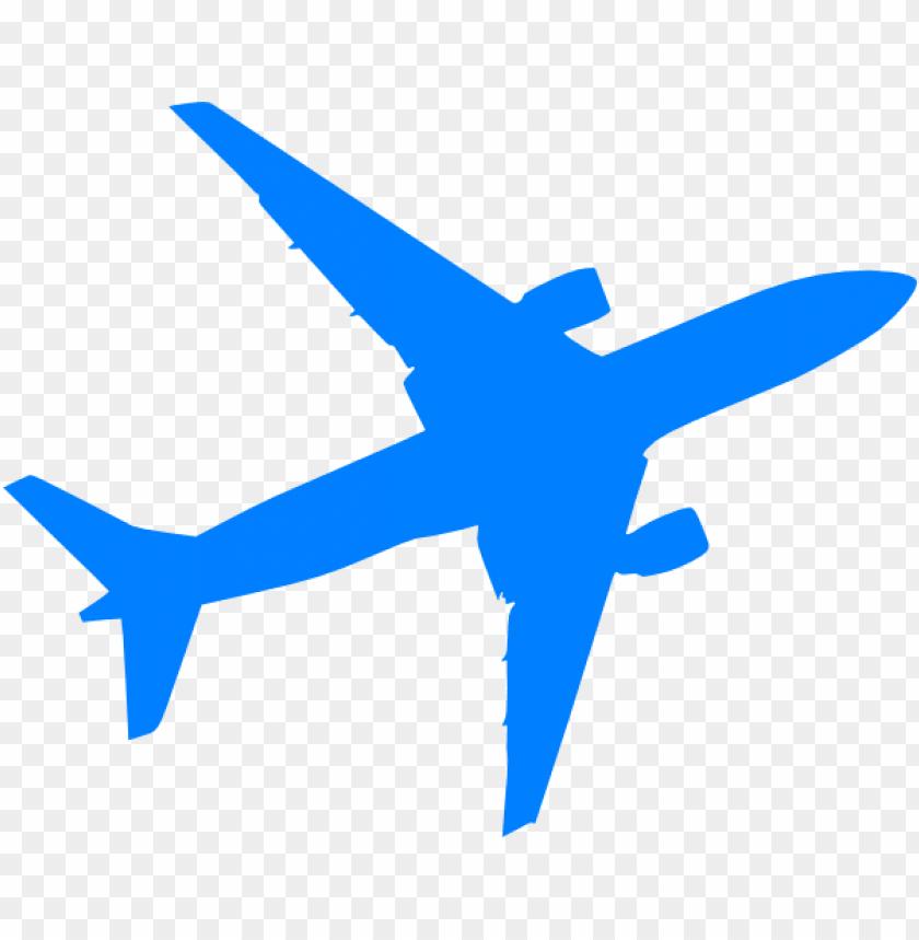 silhouette airplane svg free