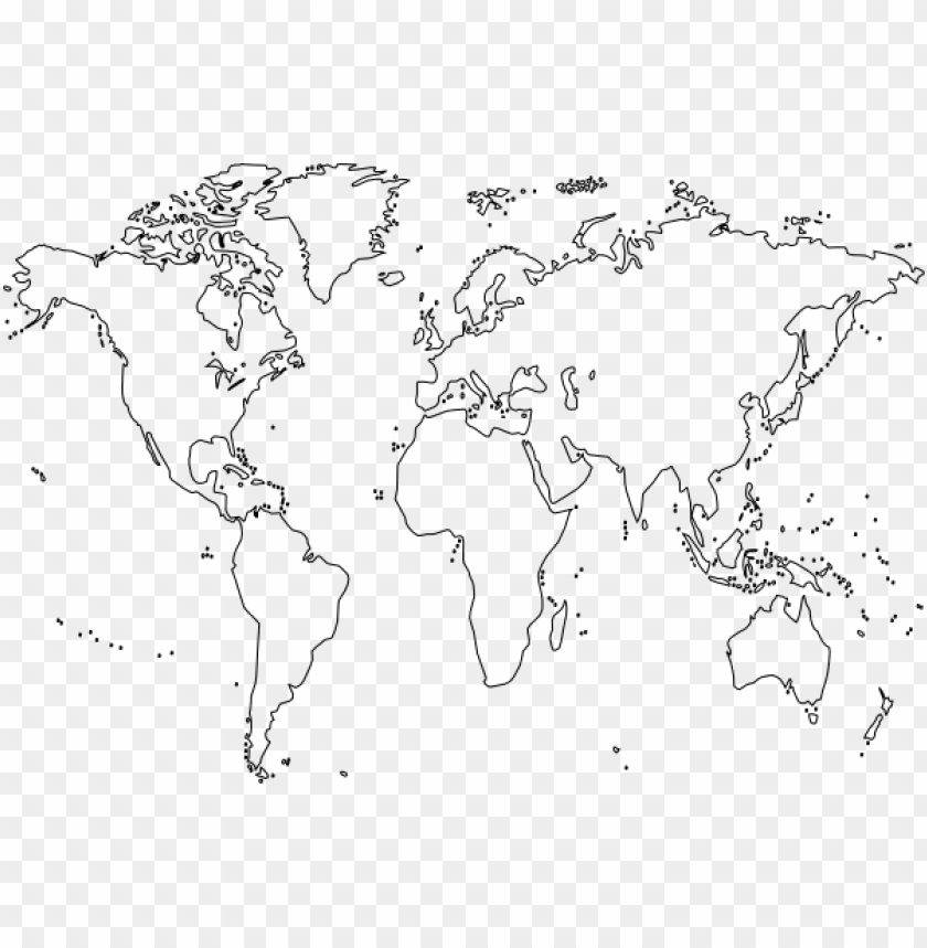 how to set use blank world map icon PNG image with ...