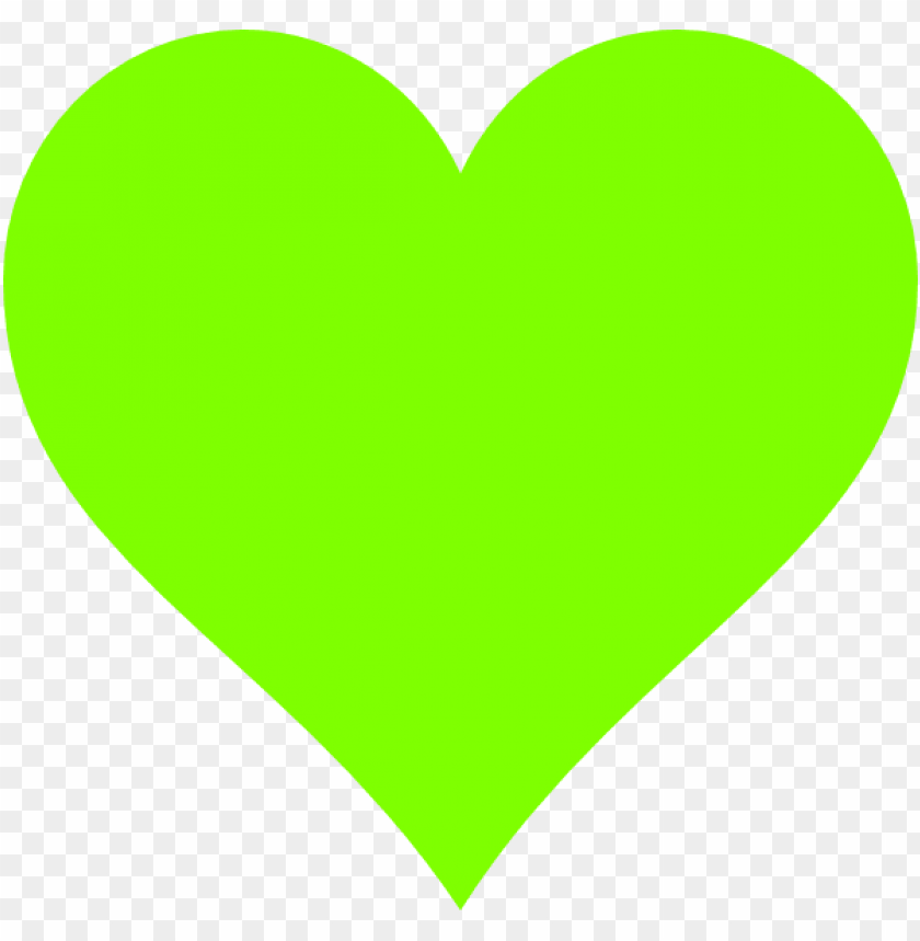 how to set use lime green heart clipart - lime green love heart PNG image with transparent background@toppng.com