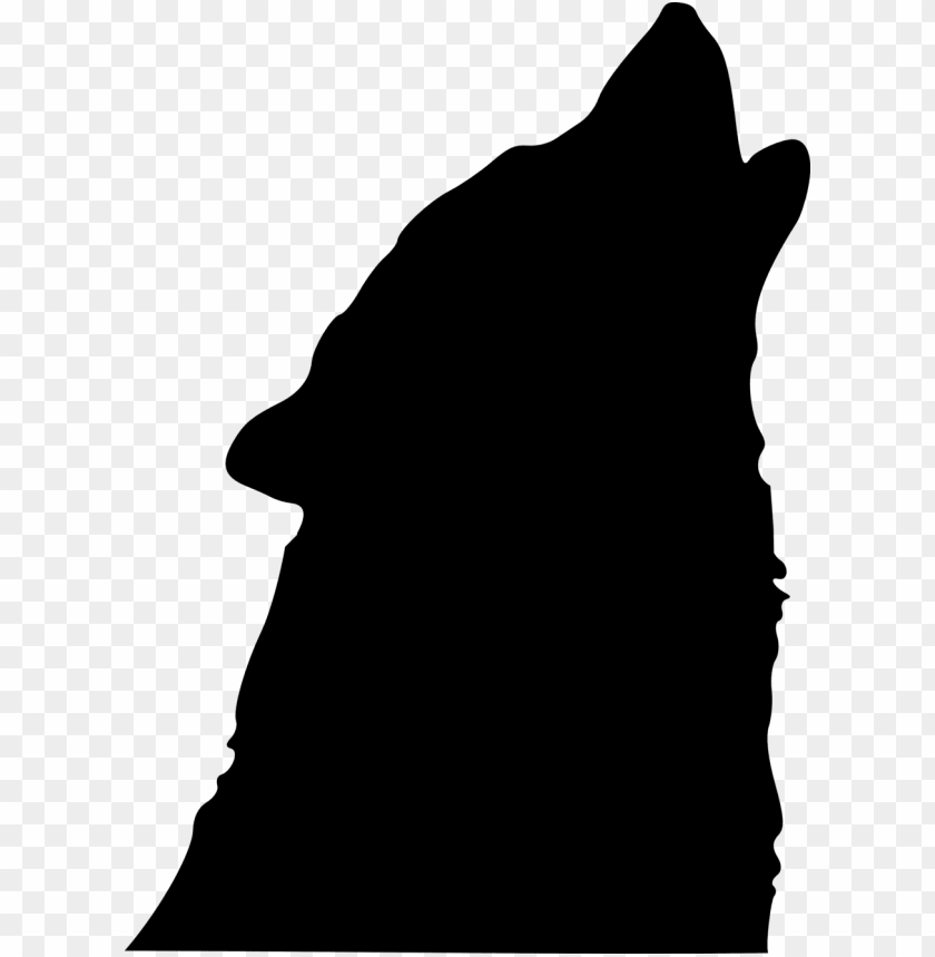 free PNG howling wolf silhouette PNG image with transparent background PNG images transparent